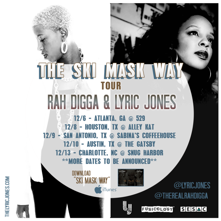 Digga & Jones Houston Official Tour flyer.png